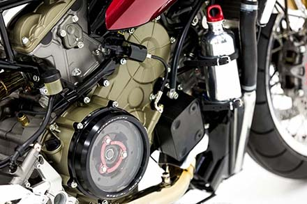 Ducati 1199 Panigale S phien ban Cafe Racer - 10