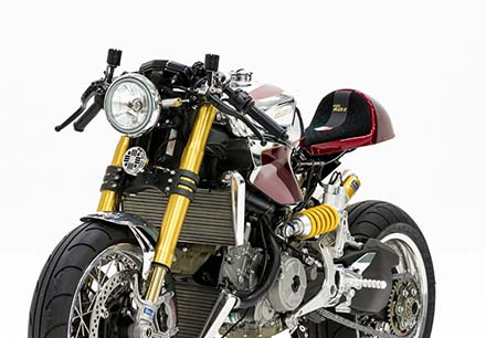 Ducati 1199 Panigale S phien ban Cafe Racer - 11