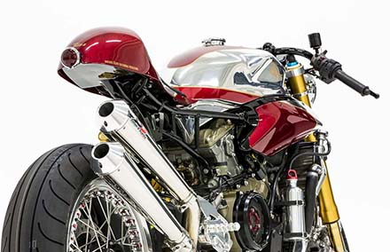 Ducati 1199 Panigale S phien ban Cafe Racer - 12