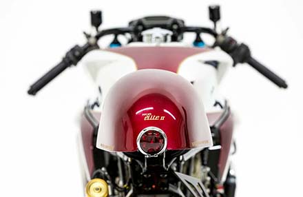 Ducati 1199 Panigale S phien ban Cafe Racer - 13