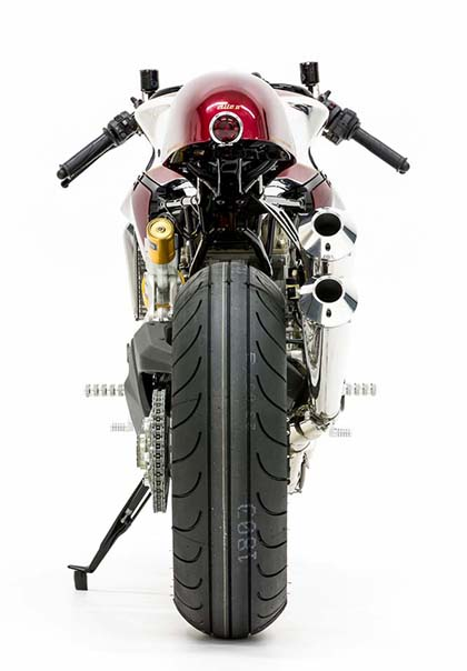 Ducati 1199 Panigale S phien ban Cafe Racer - 15