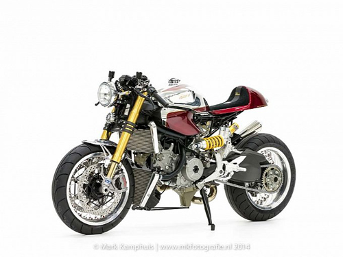 Ducati 1199 Panigale S phong cach doc nhat vo nhi cung cafe racer - 2