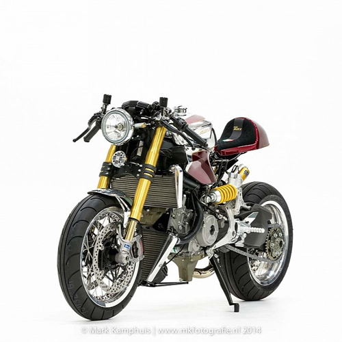 Ducati 1199 Panigale S phong cach doc nhat vo nhi cung cafe racer - 3