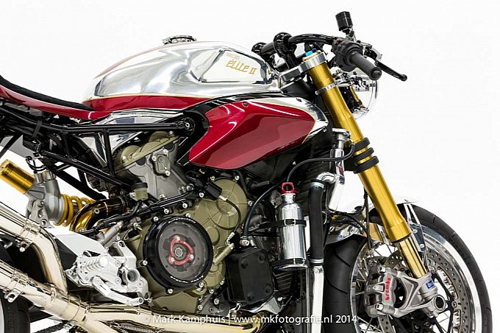 Ducati 1199 Panigale S phong cach doc nhat vo nhi cung cafe racer - 9