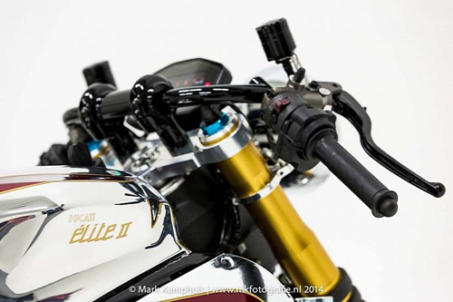 Ducati 1199 Panigale S phong cach doc nhat vo nhi cung cafe racer - 13