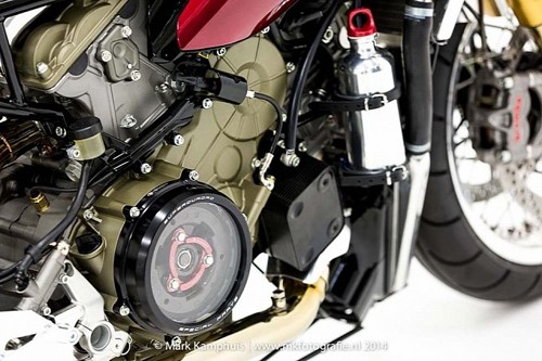 Ducati 1199 Panigale S phong cach doc nhat vo nhi cung cafe racer - 14