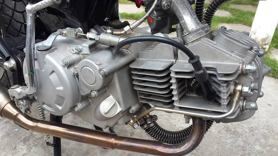 Honda 67 cafe racer chuan ko can chinh - 3