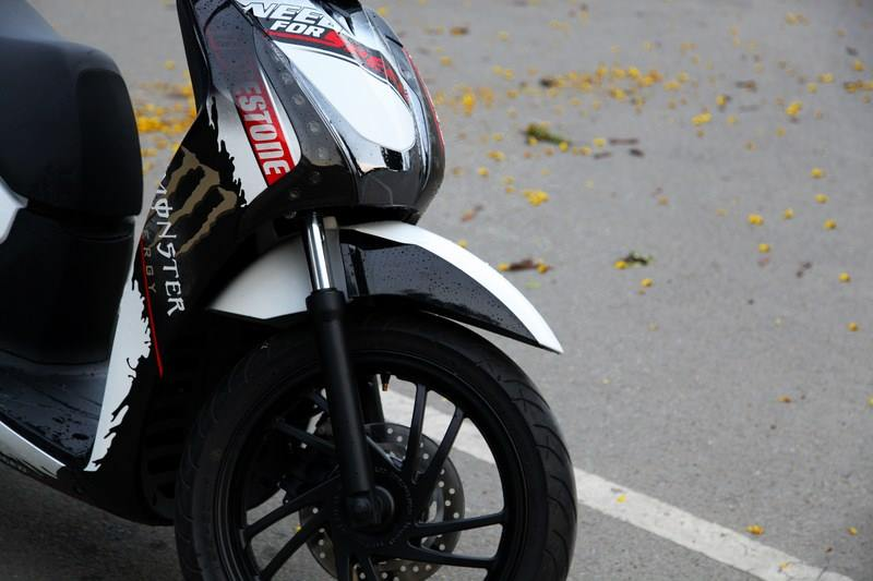 Honda SH 150i do phong cach Monster Need for Speed - 6