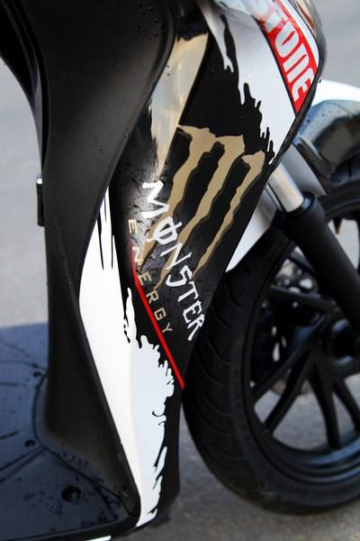 Honda SH 150i do phong cach Monster Need for Speed - 7
