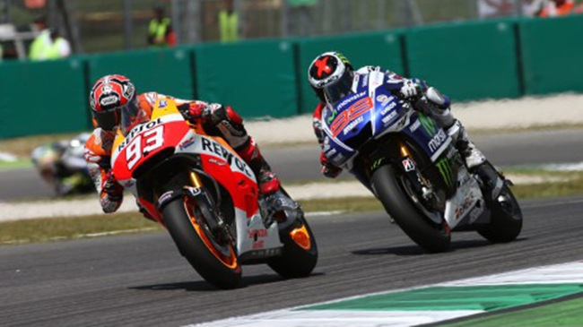Moto GP Marc Marquez gianh chien thang day nghet tho tai chan 6