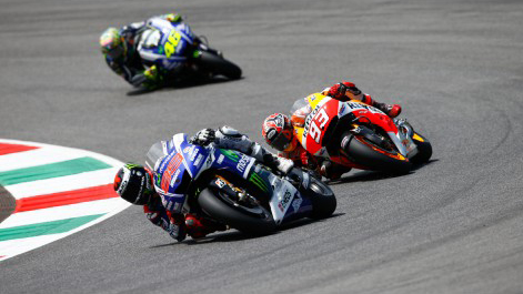 Moto GP Marc Marquez gianh chien thang day nghet tho tai chan 6 - 3