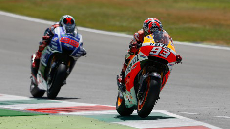Moto GP Marc Marquez gianh chien thang day nghet tho tai chan 6 - 4