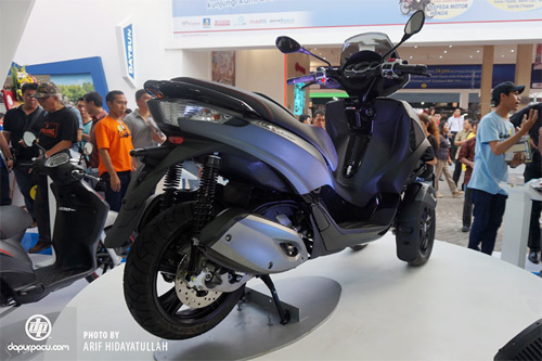 Piaggio ra mat cap doi scooter sport tai Indonesia - 13