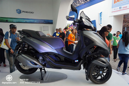 Piaggio ra mat cap doi scooter sport tai Indonesia - 14