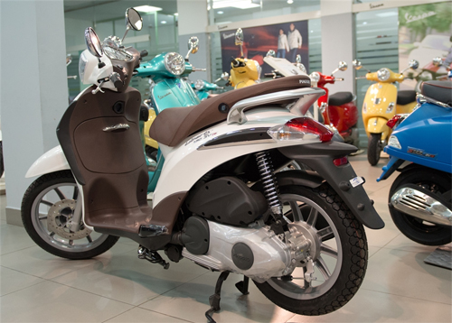 So sanh Honda SH mode va Piaggio Liberty 2014 - 3