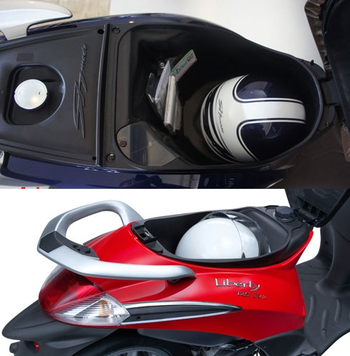So sanh Honda SH mode va Piaggio Liberty 2014 - 10