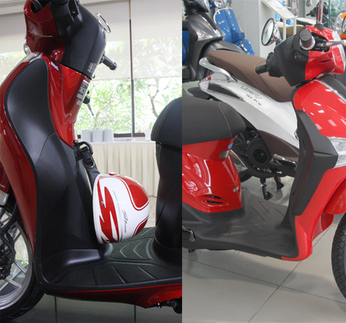 So sanh Honda SH mode va Piaggio Liberty 2014 - 11