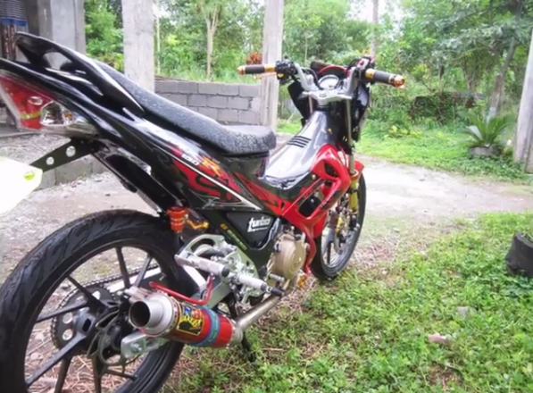 Raider R150 do kieng chat va chiu choi - 2