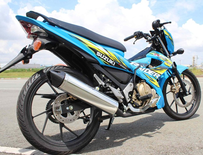 Suzuki Raider cung 1 so do choi manh