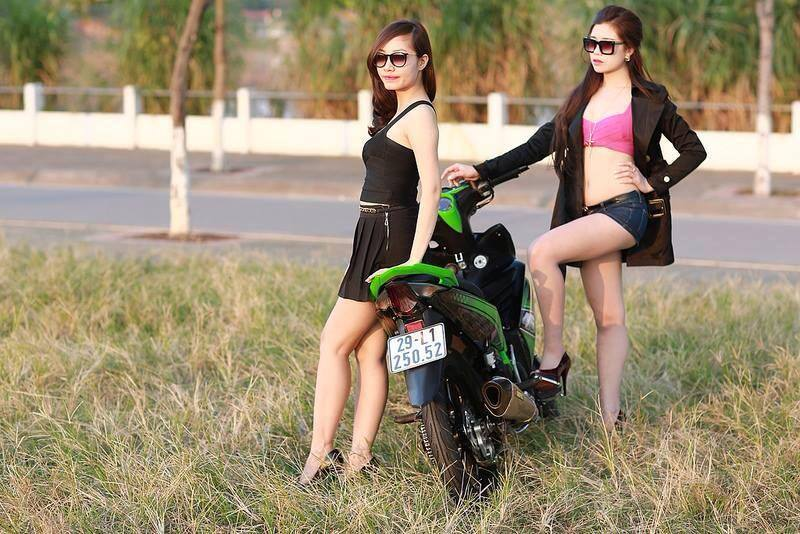 Uoc gi anh la chiec Exciter trong hinh