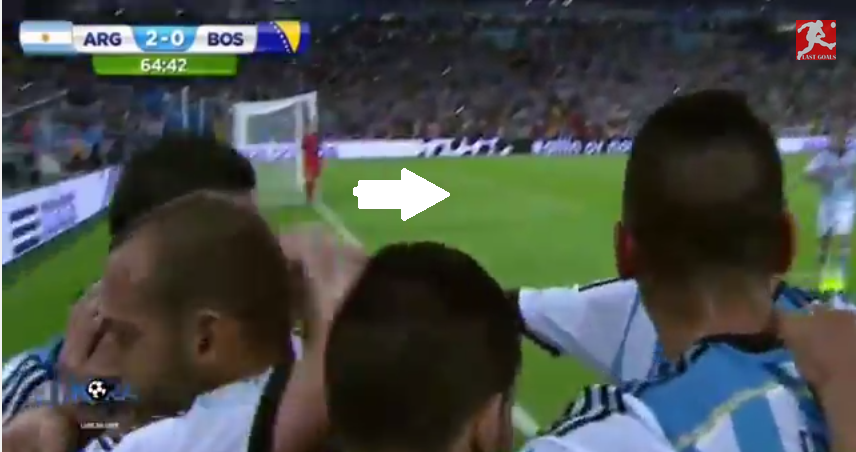Video Argentina 21 Bosnia Herzegovina Messi toa sang