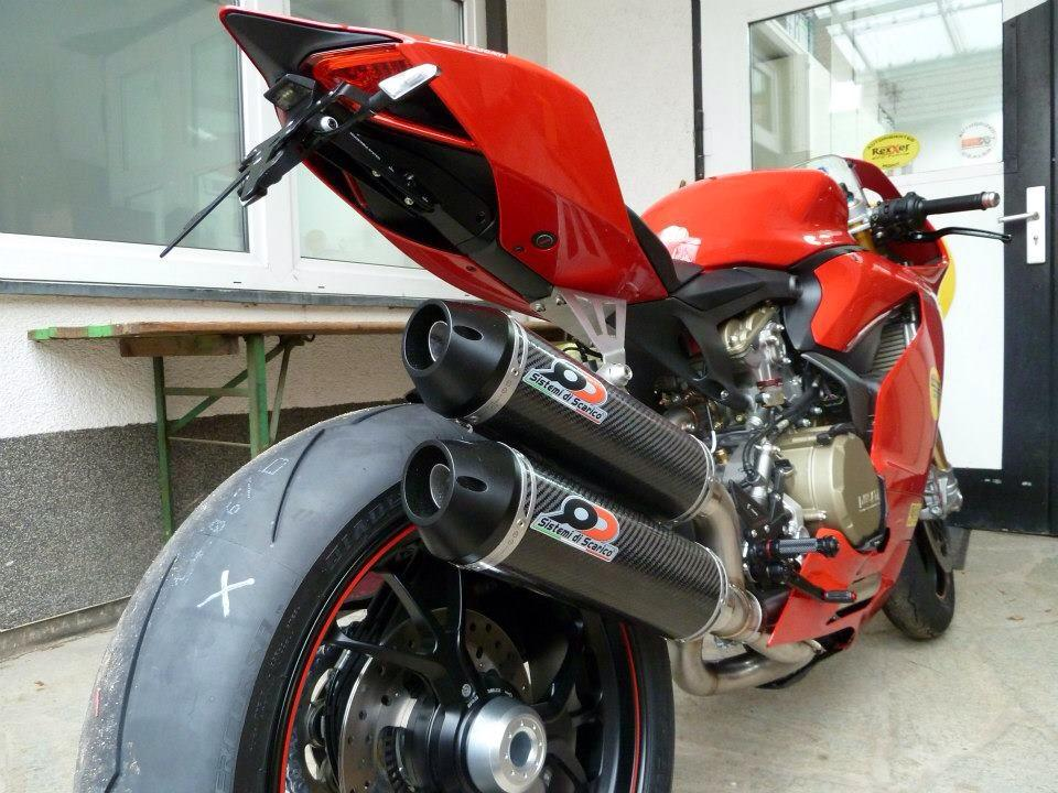 Ducati 1199 with QD Exhaust - 3