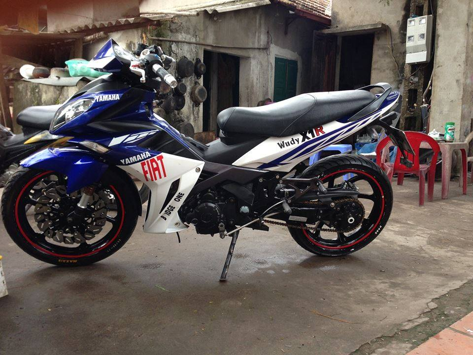 Yamaha Exciter do X1R rat chat va chieu choi voi style FIAT - 2