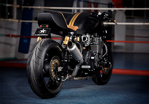 Yamaha XJR1300 Stealth do cafe racer voi cam hung tu chien dau co - 6