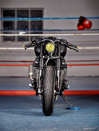 Yamaha XJR1300 Stealth do cafe racer voi cam hung tu chien dau co - 8