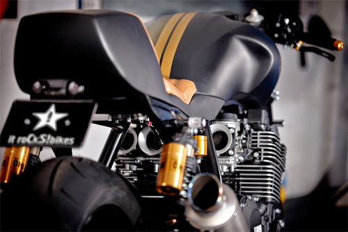Yamaha XJR1300 Stealth do cafe racer voi cam hung tu chien dau co - 10