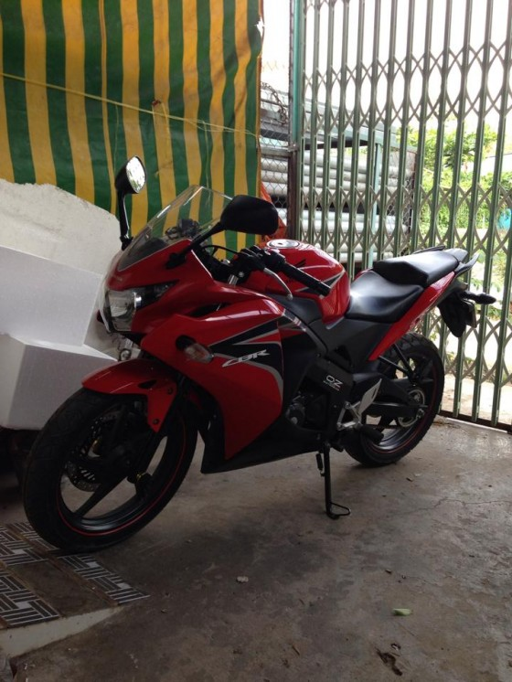 AN GIANG Can ban cbr150 date 2011 mau do