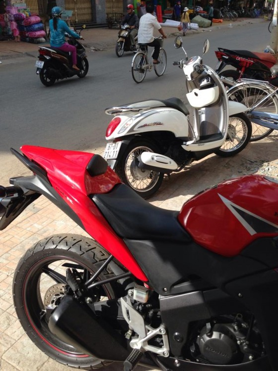 AN GIANG Can ban cbr150 date 2011 mau do - 7