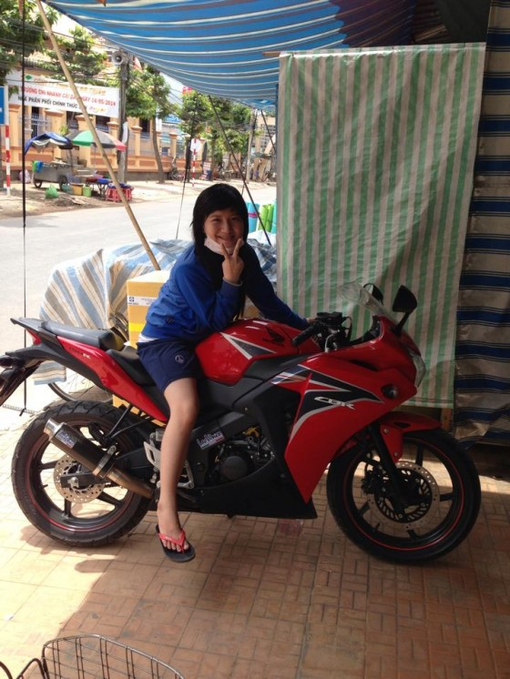 AN GIANG Can ban cbr150 date 2011 mau do - 9