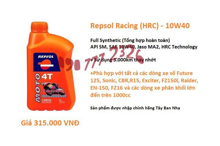 Ban Hornet CB600 cuc chat thanh ly nhot Repsol Racing HRC gia re - 11