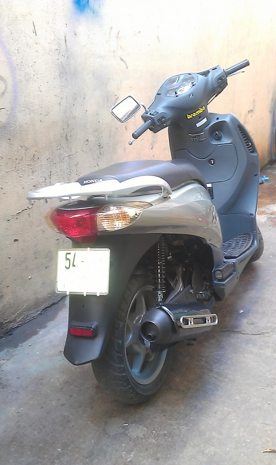 Ban xe honda ps 150i phun xang dien tu 1 doi chu so may dau 601 - 6