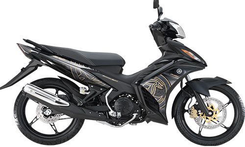 Can canh Yamaha Exciter RC 2014 phien ban mau xam