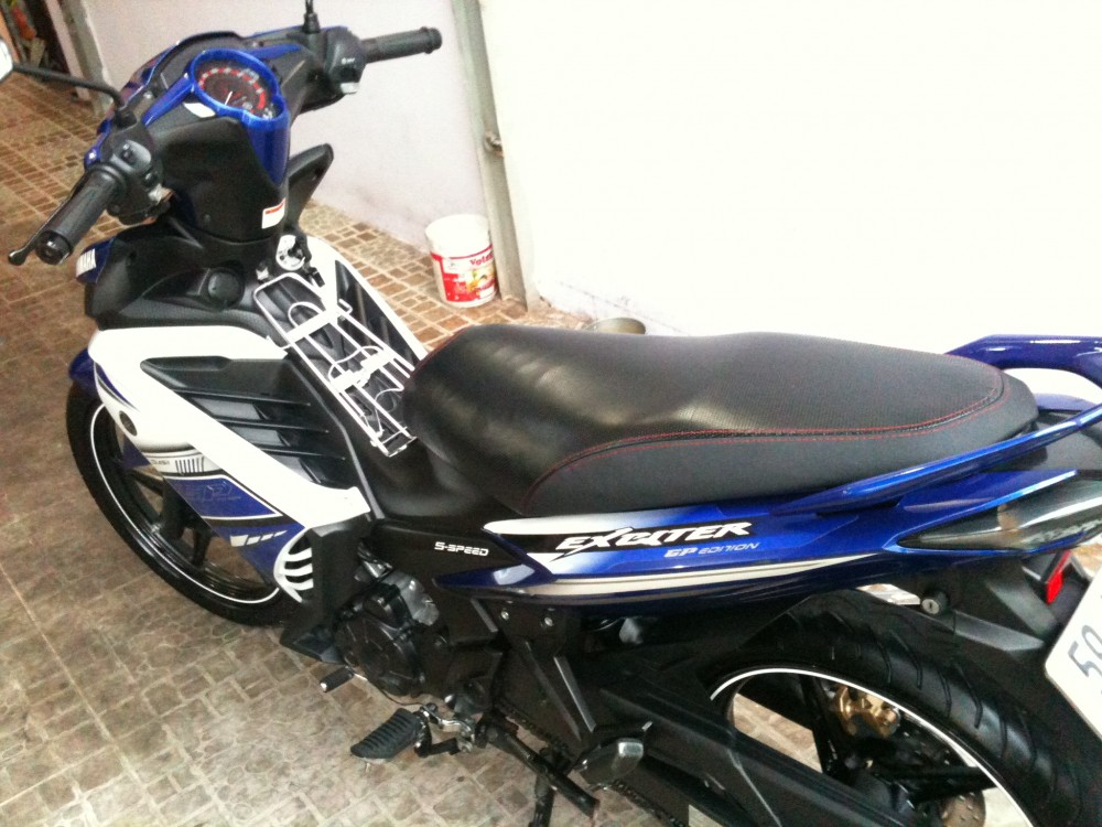 Exciter 2013 xanh GP odo 5900kmchinh chuxe leng kenggia tot - 5