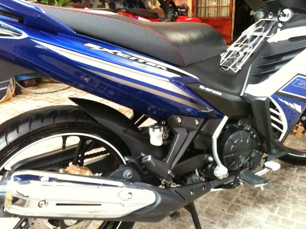 Exciter 2013 xanh GP odo 5900kmchinh chuxe leng kenggia tot - 6