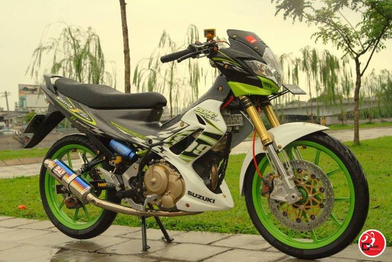 Hang moi ve Full dan ao Satria F150 de sau choa limited cho raider - 2