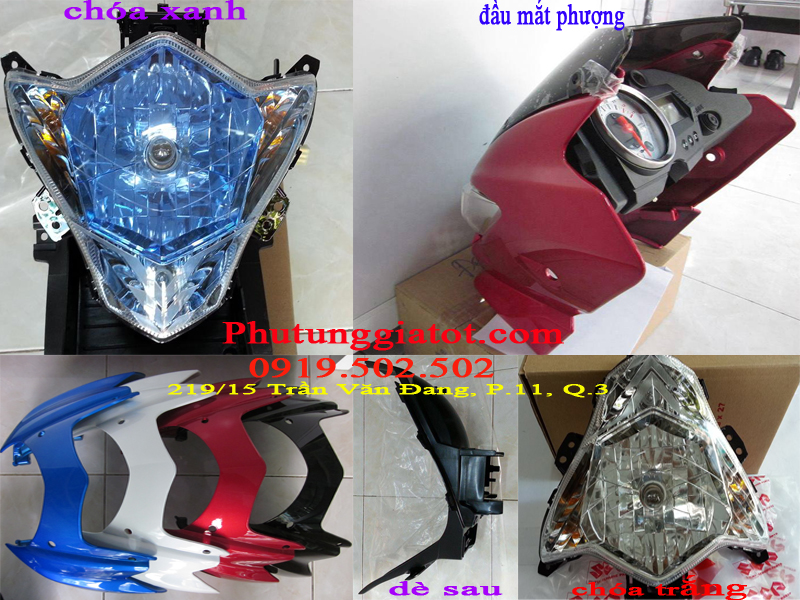 Hang moi ve Full dan ao Satria F150 de sau choa limited cho raider - 7