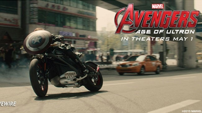 HarleyDavidson Livewire chiec xe cua Captain America trong Avengers moi