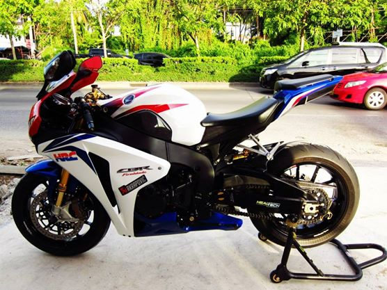 Honda CBR 1000RR HRC 2k9 mem full options - 2