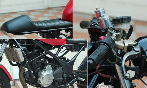 Honda CBR250R do cafe racer cuc ngau - 2