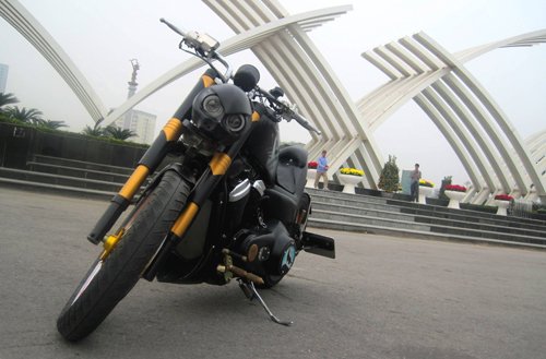 Honda Cruiser do phong cach Bumblebee Transformer tai Ha Noi - 2