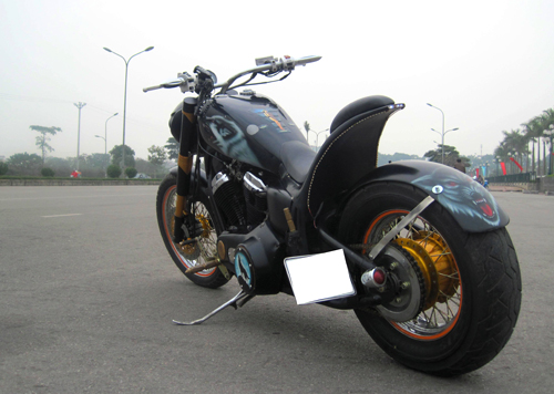 Honda Cruiser do phong cach Bumblebee Transformer tai Ha Noi - 6