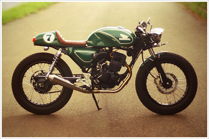 Honda GL200 do Cafe Racer