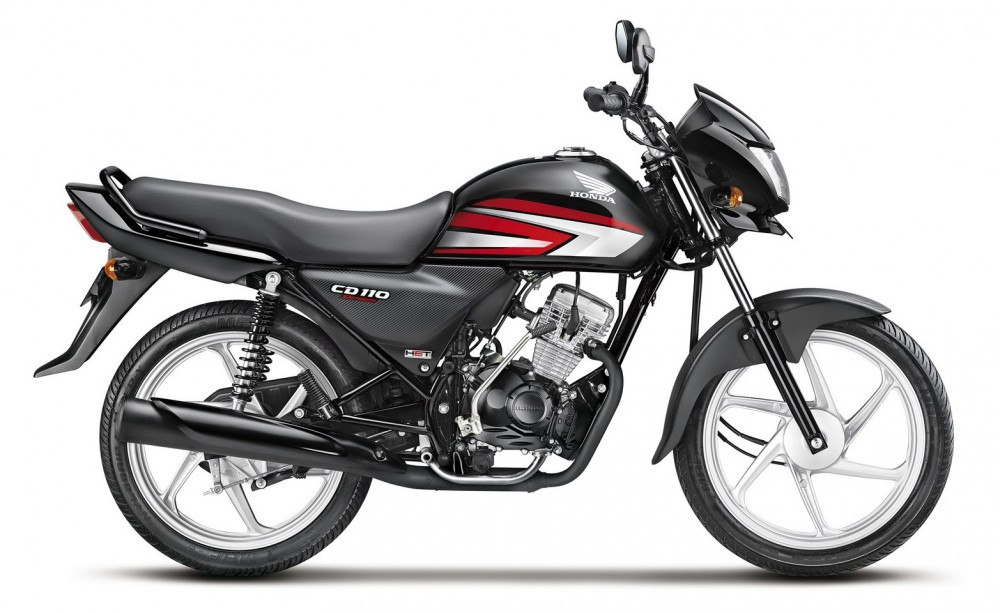 Honda moi ra mat mau moto CD 110 Dream gia re