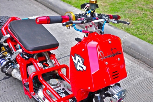 Honda Zommer X do tang ap kep Turbo - 2