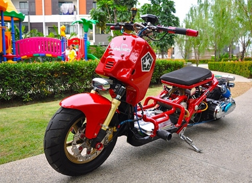 Honda Zommer X do tang ap kep Turbo - 6