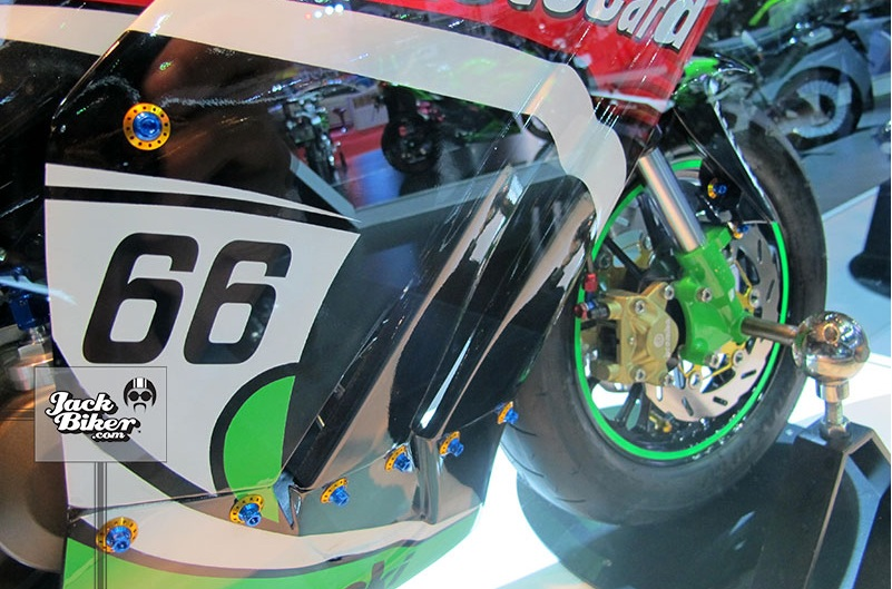 Kawasaki KSR do thanh ZX10R cuc chat - 9